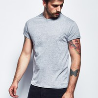 The Idle Man T Shirt with Crew Neck - THE IDLE MAN. - Brands | The Idle Man