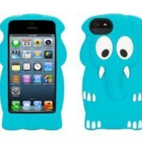 Voice Comm Apple Iphone 5 Griffin Kazoo Case - Blue Elephant - Retail Packaged - Carrying Case - Retail Packaging - Black