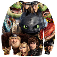 How to Train Your Dragon Crewneck