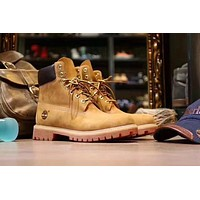 Timberland Wheat Premium 6 Inch Leather Boots 10061 10361 | Best Deal Online