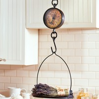 Decorative Antiqued Vintage Hanging Farmhouse Kitchen Scale Country Decor