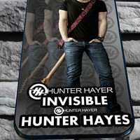 hunter hayes invisble for iPhone 4/4s, iPhone 5/5S/5C/6, Samsung S3/S4/S5 Unique Case *76*