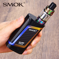 SMOK Alien 220W e-Cigs Kit with TFV8 Baby Tank 3ml Atomizer VS SMOK Alien Box Mod Vape Kit Rainbow/Full Color/7-Color Available