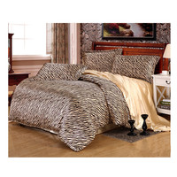 Silk King Queen Double Size Silk Duvet Quilt Cover Sets Bedding Cover Set 1.5M/1.8M Bed 05