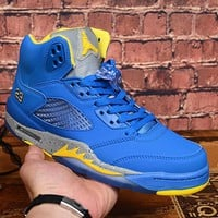 "Air Jordan 5 JSP Laney ""Varsity Royal"" - Best Deal Online"