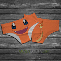 Charmander Pokemon Panties