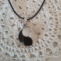 YinYang stone necklace