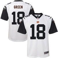 Youth Cincinnati Bengals A.J. Green Nike White Color Rush Game Jersey