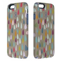 Speck CandyShell Inked iPhone 6 Case - Rainbow Drop Pattern / Wisteria Purple