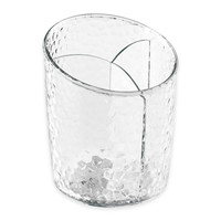 InterDesign® Rain Divided Cosmetic Cup in Clear