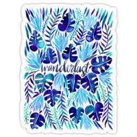 Tropical Wanderlust – Blue by Cat Coquillette