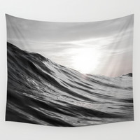 Motion of Water Wall Tapestry by Nicklas Gustafsson
