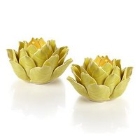 Fleur Tealight - Lemon | Mothers-day | Z Gallerie