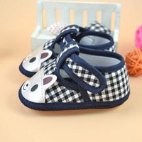 Newborn Baby's Canvas Shoes