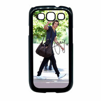 One Direction Harry Styles Hello Samsung Galaxy S3 Case