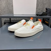 Hermès Men Fashion Boots fashionable Casual leather Breathable Sneakers Running Shoes07310cx
