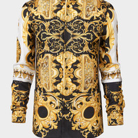 Versace Barocco SS'92 Silk Shirt for Men | US Online Store