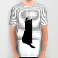 Cat Scratch All Over Print Shirt by Sayahelmi | Society6
