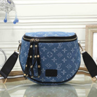 Louis Vuitton LV Leather Fashion Crossbody Shoulder Bag