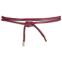 PU Belt - Burgundy