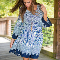 The Switch Up Dress, Navy