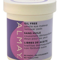 oil-free eye makeup remover pads by almay 80 Pc