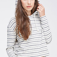 Striped French Terry Pullover