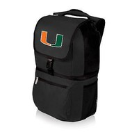 University of Miami Hurricanes Backpack Cooler Hiking Pack