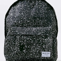 Nicce Black Speckle Backpack