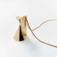 Metalepsis Projects I High Polish Pendant Necklace  - Gold One