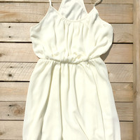 Summer Pierce Dress in Ivory