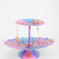 Plum & Bow Rainbow Crochet Jewelry Stand - Urban Outfitters