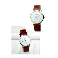Thin Strap Watch Brown Belt Watch Watches For Men Casual Simplicity Business Formal Clocks CF