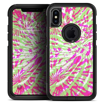 Spiral Tie Dye V4 - Skin Kit for the iPhone OtterBox Cases