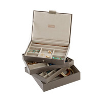 Mink Classic Stackers Premium Stackable Jewelry Box