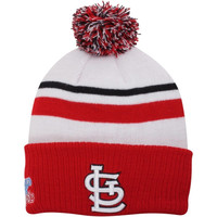 St. Louis Cardinals New Era Patch Is Proof Knit Hat – White