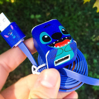 Lilo & Stitch iphone 5/6/7 Charger