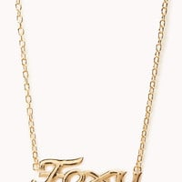Foxy Chain Necklace