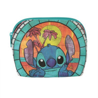 Disney Lilo & Stitch Stained Glass Cosmetic Bag
