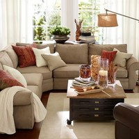Pearce 3-Piece L-Shaped Sectional with Wedge - everydaysuede™