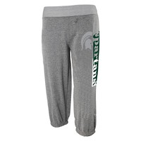 adidas Michigan State Spartans French Terry Pants - Girls