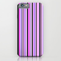 Candy Stripe 3 iPhone & iPod Case by Alice Gosling