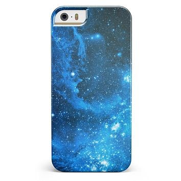 Blue Hue Nebula iPhone 5/5s or SE INK-Fuzed Case