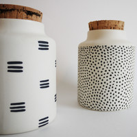 SEED JARS : PATTERNED
