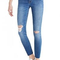 Madewell Crop Jeans (Bruce Wash)   Nordstrom