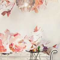 Anewall Rosella Mural in Pink Size: One Size Wall Decor