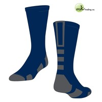 Baseline 2.0 Elite Socks - Navy Blue/Graphite (Medium) - proDRI fabric, NIP