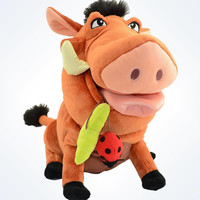 """Disney Parks The Lion King Pumbaa 13"""" Plush New With Tags"""