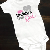 Daddy Onesuits® Funny Baby Onesuit® Cute Baby Girl Onesuits® Elephant Onesuits® Cute Baby Clothes, Coming Home Outfit