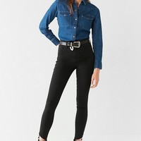 BDG Twig High-Rise Skinny Jean – Frayed Ankle   Urban Outfitters